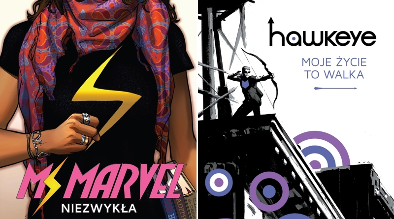 Ms Marvel i Hawkeye